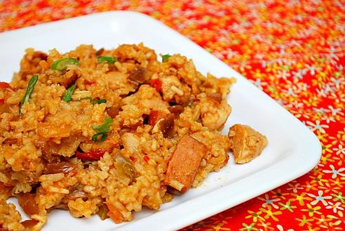 Chicken & Andouille Jambalaya