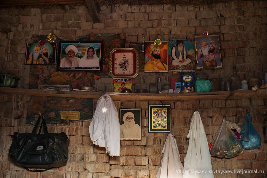 Inside the house of desert habitant