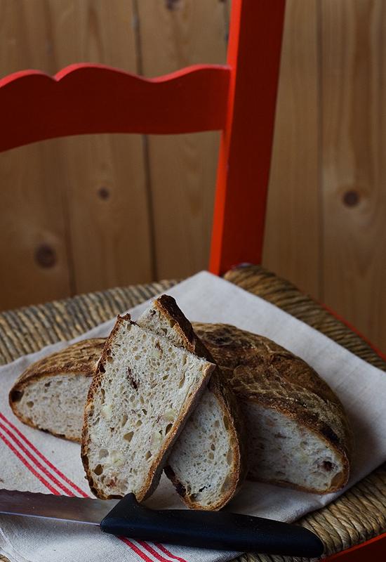 Receta de pan de castañas y chocolate
