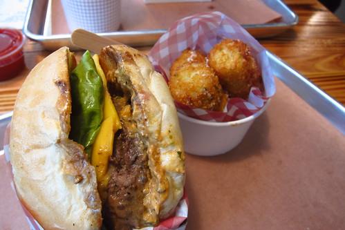 Clarke's Standard Burger