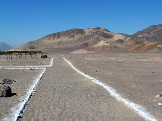 Fotografía del Cementerio de Chauchilla (Perú)