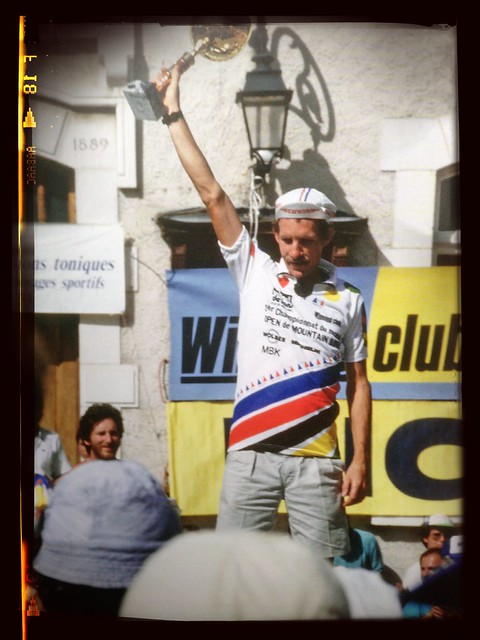 Ned Overend, first MTB world champion, 1987