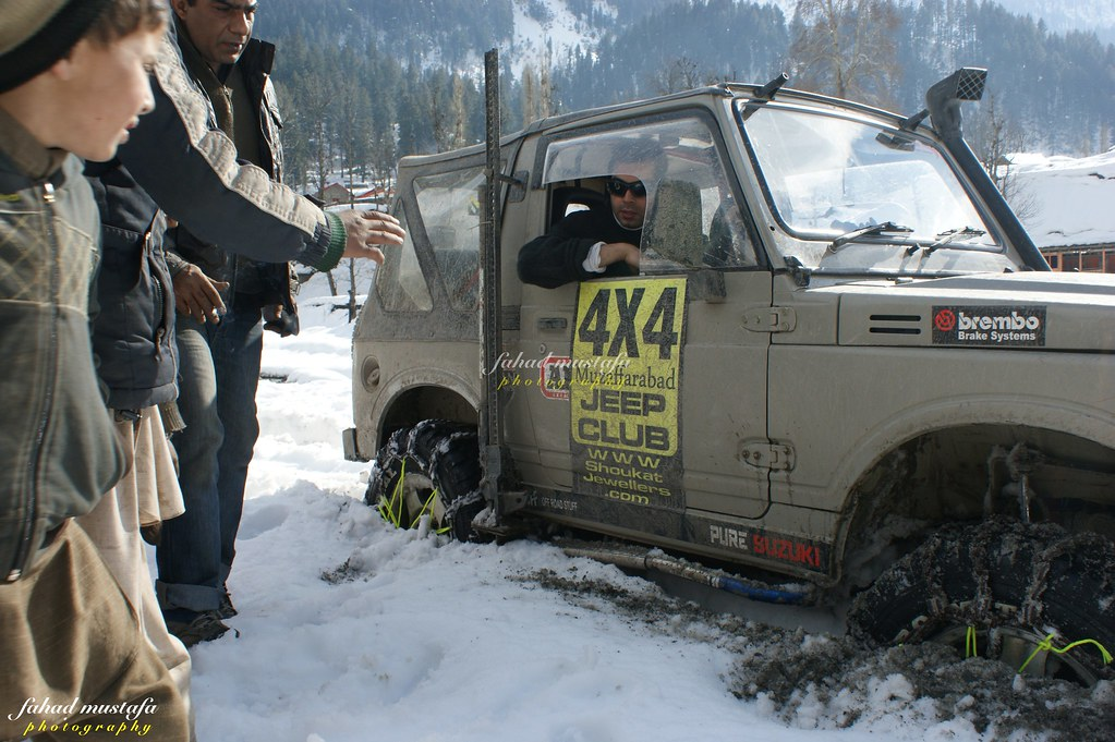 Muzaffarabad Jeep Club Neelum Snow Cross - 8471006361 e55377ab45 b
