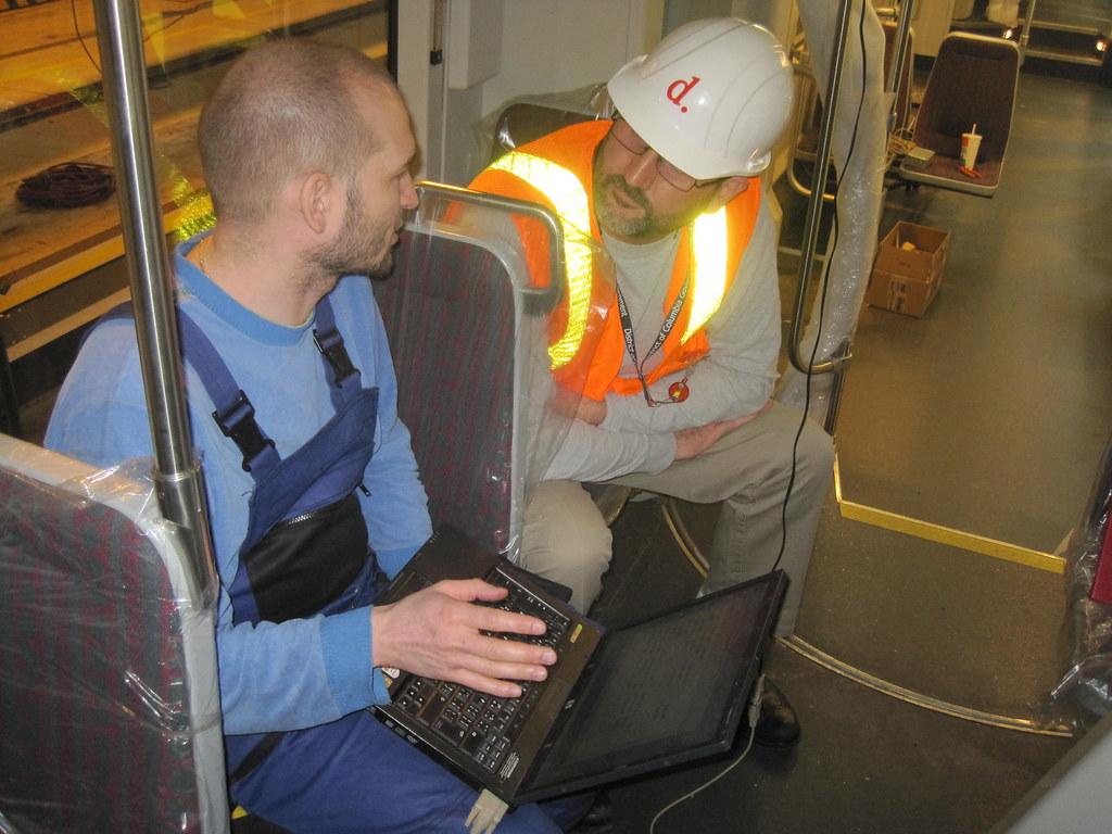 An INEKON Engineer and DDOTs Ralph Burns