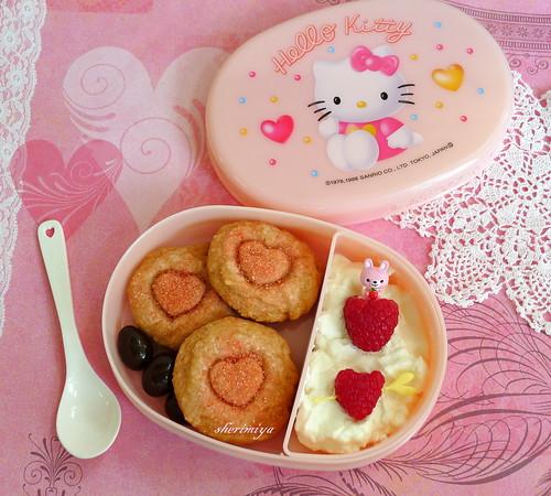 Valentine Snack Bento by sherimiya ♥