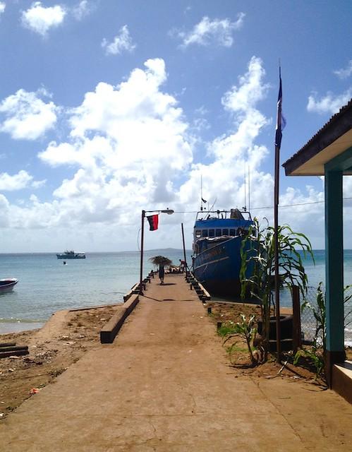 boat-little-corn-island-nicaragua