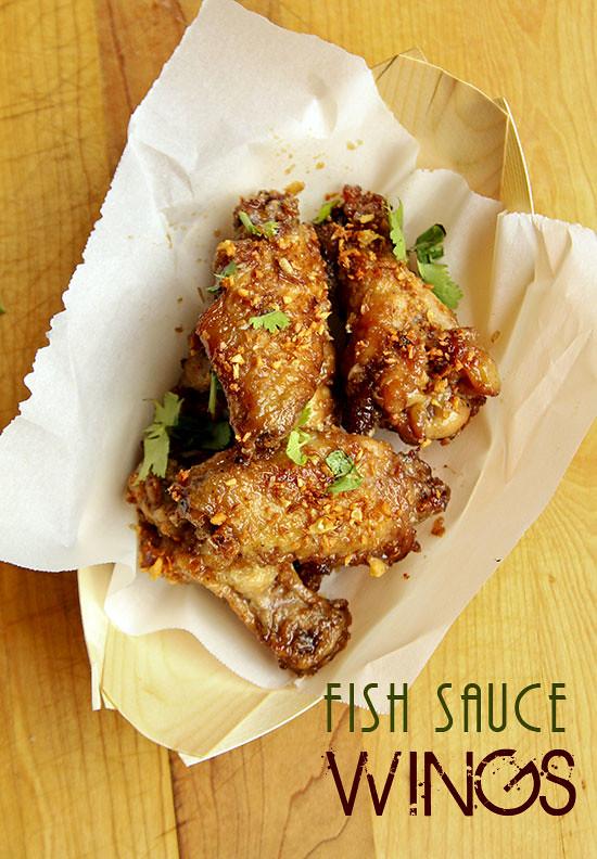 Fish sauce wings pok pok wings for Wings fish