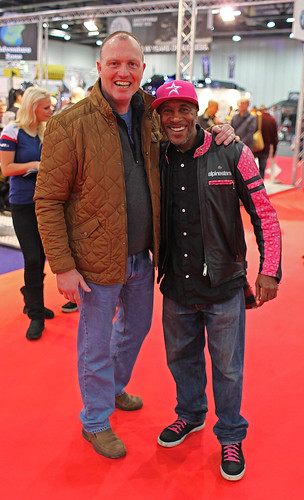 Danny John-Jules from Red Dwarf and Death in Paradise Nice guy by Kinzler Pegwell