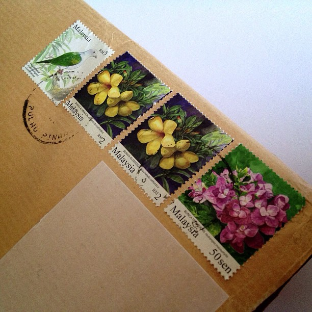 #malaysia #postage #stamps #flower