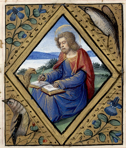 026-6v-7r-detalle-Thott 541 4 ° Liber horarum –Francia 1500- The Royal Library