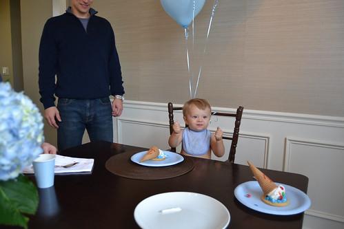 Bennett's 1st Birthday! - 29