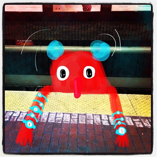 Meowtro attempts to keep the trains running smoothly — and fails #imaginaryfriends