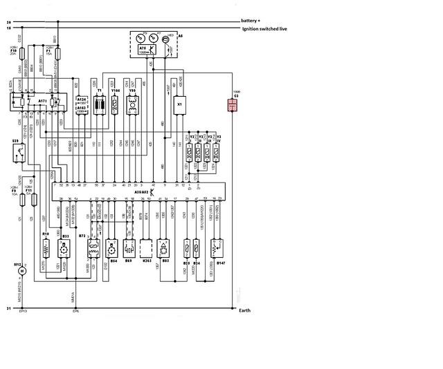 mk2 wiring loom diagram