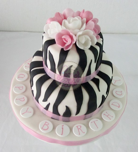Tortas animal print cebra - Imagui