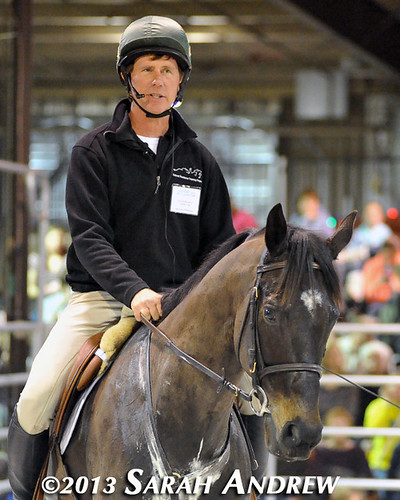Steuart Pittman and Declan's Moon at the Maryland Horse World Expo