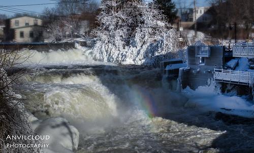 waterfall mississippiriver easternontario almonte lanarkcounty
