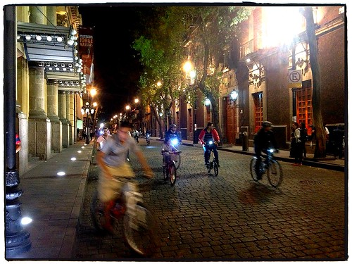 Bici Nocturno - Touring Mexico City's Historical District at Night by tf_82