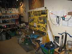 Tool board and truing stand