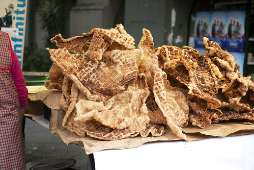 chicharron @ tianguis condesa