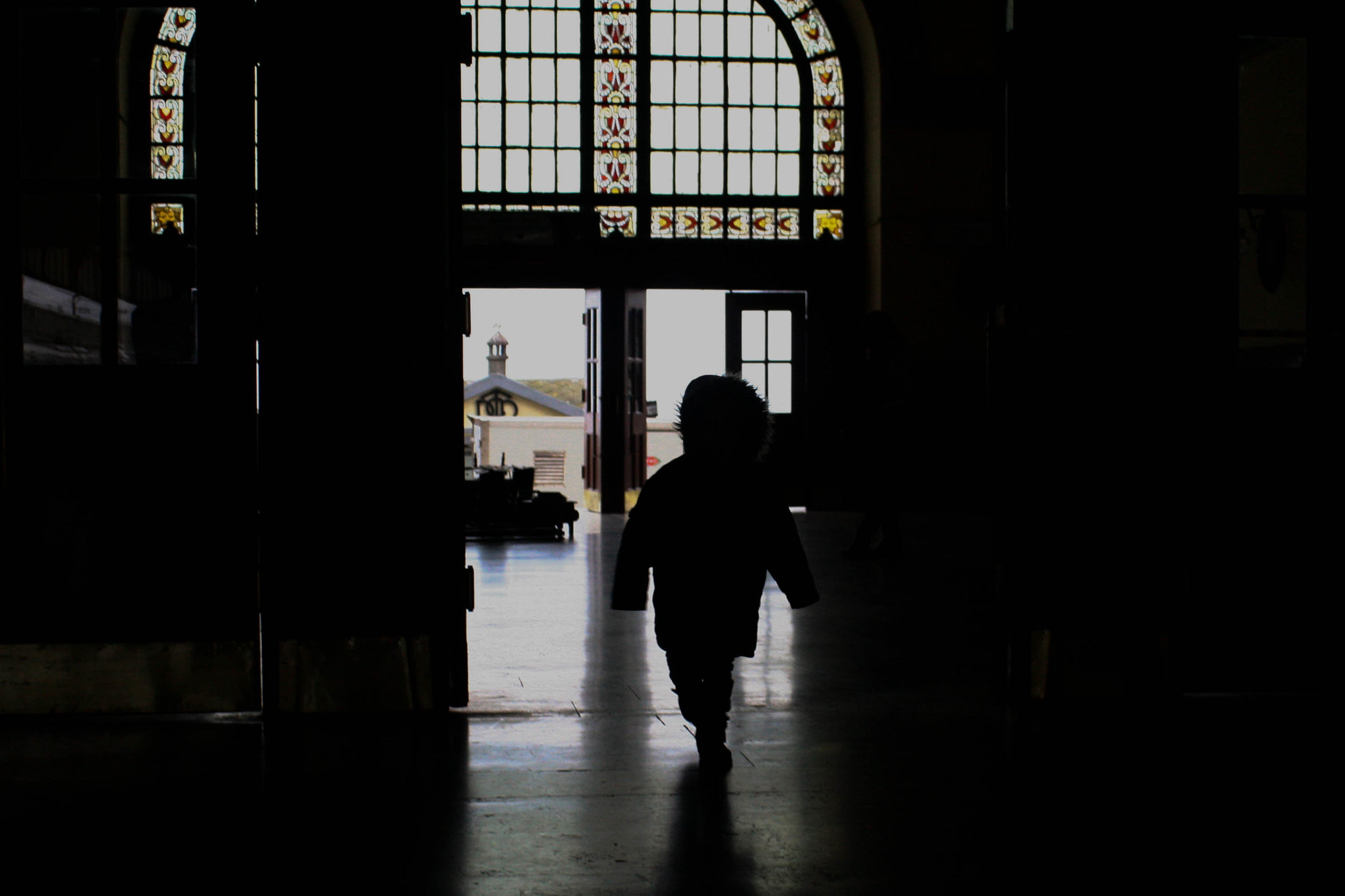 Running through Haydarpaşa Station