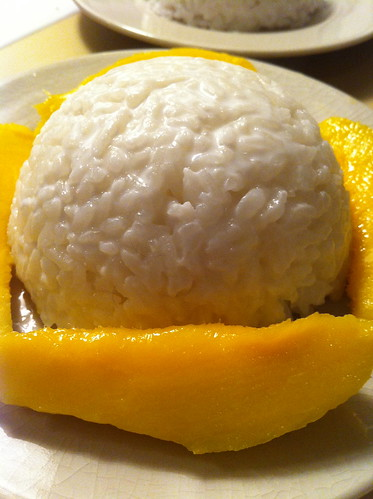 Sticky Rice & Mango Pudding