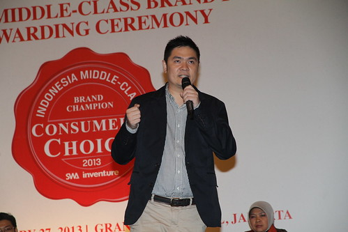 Indonesia Middle-Class Brand Forum 2013-Ricky Lim