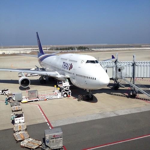 タイ航空TG623便 by haruhiko_iyota