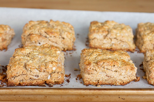 Oat and Maple Syrup Scones - Smells Like Home
