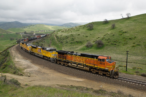 california santa up burlington pacific union pass mojave fe northern tehachapi bnsf subdivision