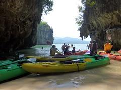 Kayaking At Ao Thalane