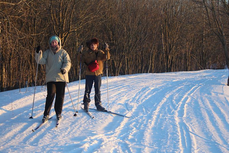 Лыжи. Выездной миссионерский семинар 7-10 марта 2013
