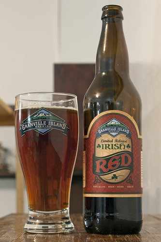 Review: Granville Island Irish Red by Cody La Bière