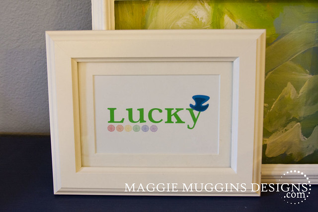 Lucky St. Patrick's Day Printable