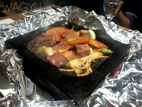 Wagyu Karubi Saikoro Steak
