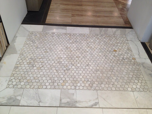 Tile Floor Borders : Lindsay drew floor tile borders