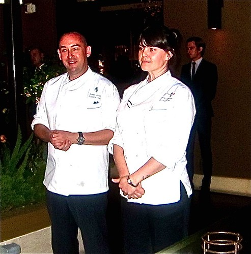 mette williams(right) with hotele exec chef