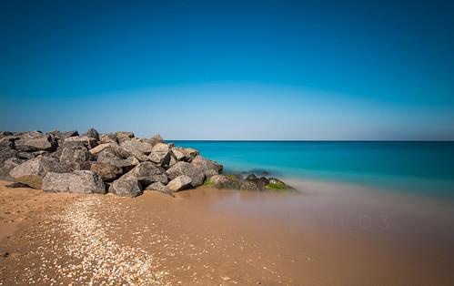 ocean blue sea sky bw shells beach sand nikon rocks waves florida 10 turquoise horizon 110 smooth palm system stop filter lee nd algae breakers polarizer f4 holder d800 polarizing 1635mm 2013