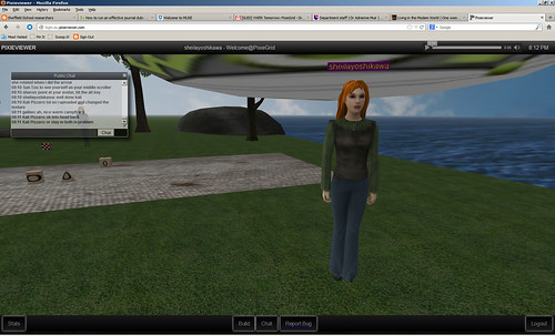 Virtual Worlds Educators Roundtable 14 March 2013 pixiegrid