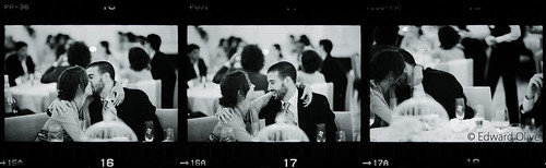 Negatives from wedding shots 16 17 18 Edward Olive European wedding photographer fotografo de boda photographe de mariage Hochzeitsfotograf by Edward Olive Actor Photographer Fotografo Madrid