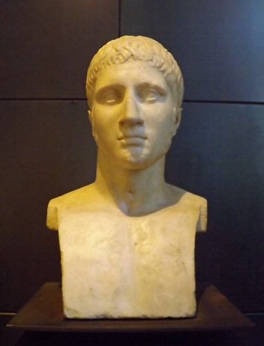 Male Portrait Herm in the Capitoline Museum, July 2012