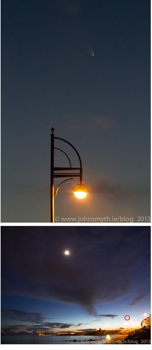 comet panSTARRS over Galway