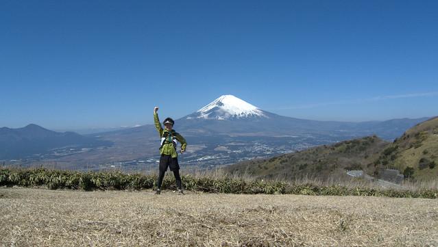 箱根外輪山トレイルランニング
