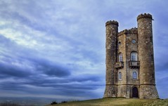 [Free Images] Architecture, Towers, Broadway Tower, Landscape - United Kingdom ID:201303222000
