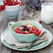 Breakfast with granola and redcurrant by Julicious