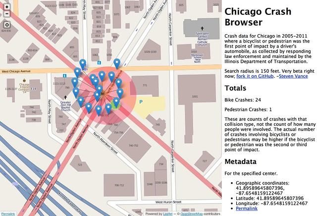 Chicago Crash Browser