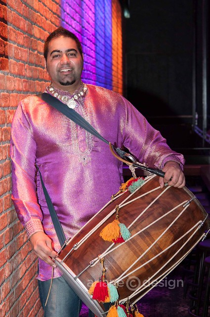 Percussionist Rayman Bhuller