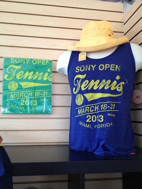 Sony Open Tennis 2013 Shirt