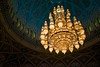 Chandelier in Grand Mosque, Muscat by Steve Lavelle