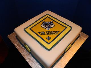 Cub Scouts Cake