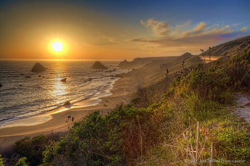 Jenner Beach Sunset by smittysholdings